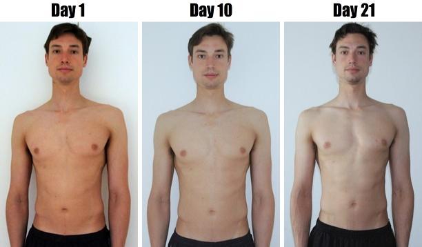Sam Feltham's 21 Day 5,000 Calorie Challenge