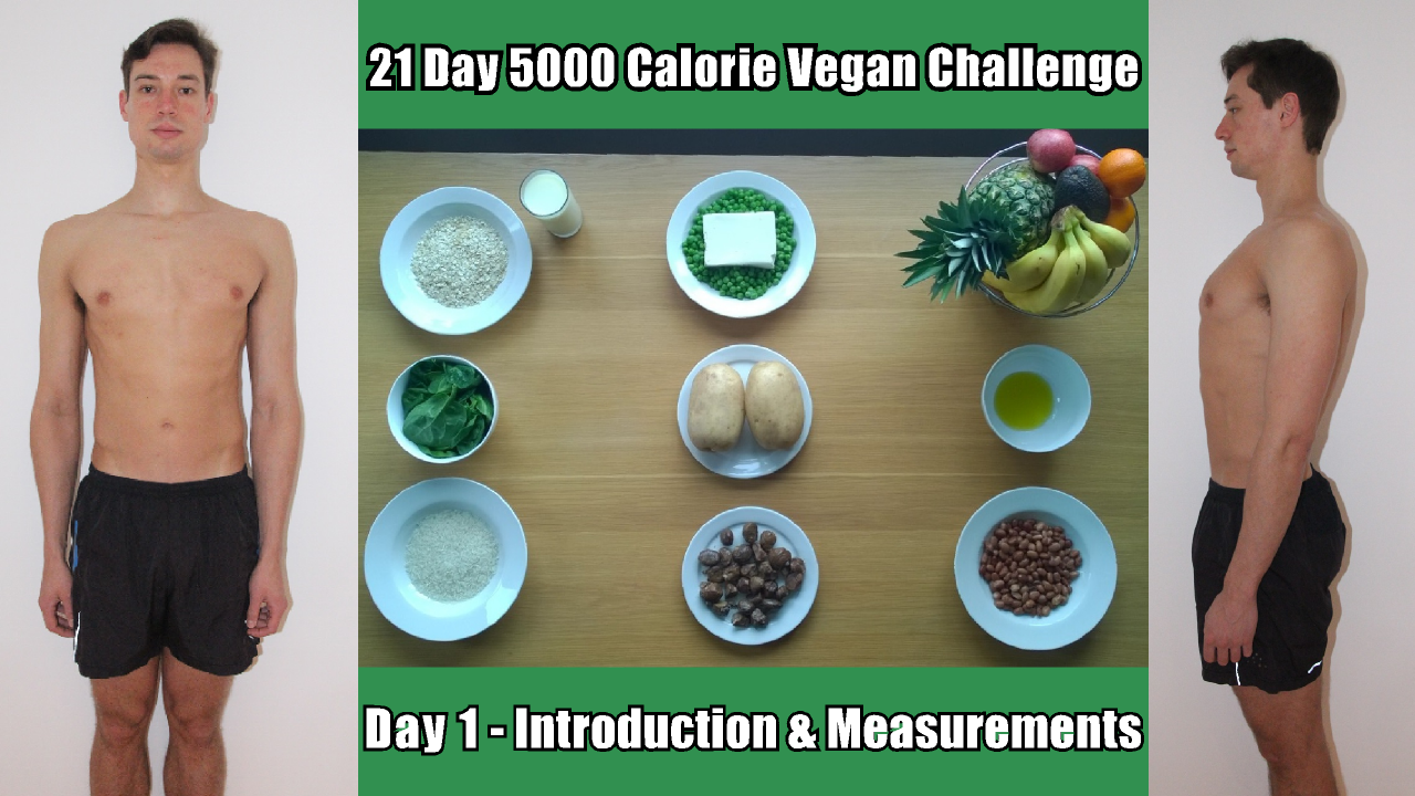 Day 1 of the 21 Day 5,000 Calorie Challenge