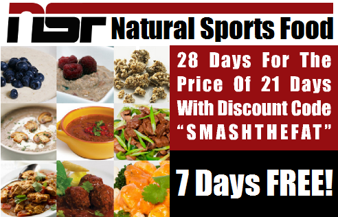 7 Days FREE With Natural Sports Food