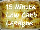 Low Carb Lasagne - Thumbnail