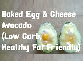 Baked Egg And Cheese Avocado - Thumbnail