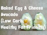 Baked Egg And Cheese Avocado - Thumbnail