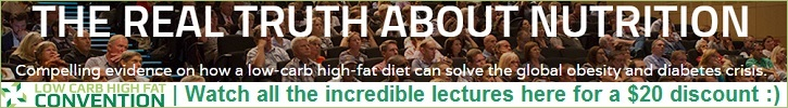 Watch All The Incredible Lectures From The LCHF Convention For A $20 Discount Right Here :)