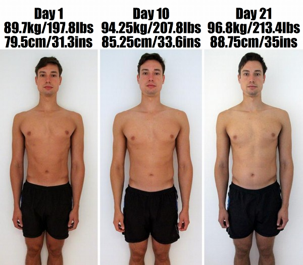 no carb diet results after 1 month